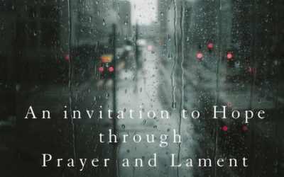 Lament, Hope and Mission